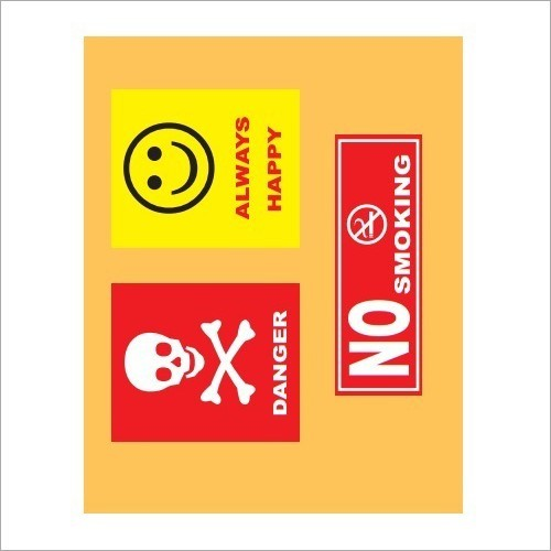 Prined Safety Signage