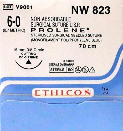 Ethicon - Prolene(Polypropylene) (Nw823)