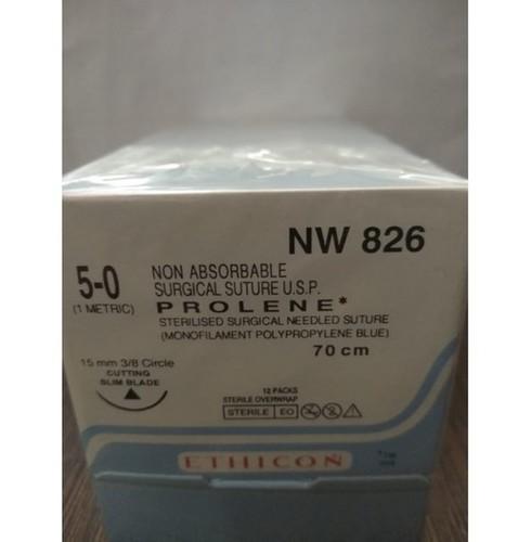Ethicon - Prolene(Polypropylene) (Nw826)
