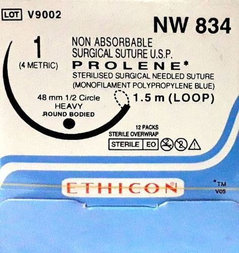 Ethicon - Prolene(Polypropylene) (Nw834)