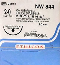 Ethicon - Prolene(Polypropylene) (Nw844)