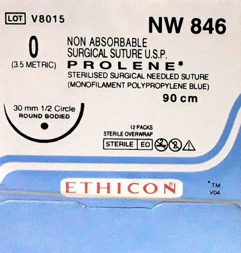Ethicon - Prolene(Polypropylene) (Nw846)