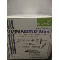 ETHICON DERMABOND Topical Skin Adhesive (2- Octyl Cyanoacrylate) (AHVM12)