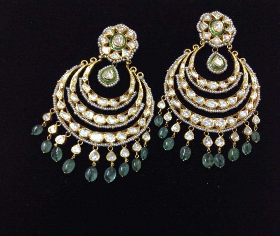 Diamond Kundan Polki Jewellery