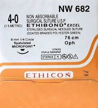 Ethicon Ethibond Excel (Polybutylate Coated Braided Polyester) (Nw682)
