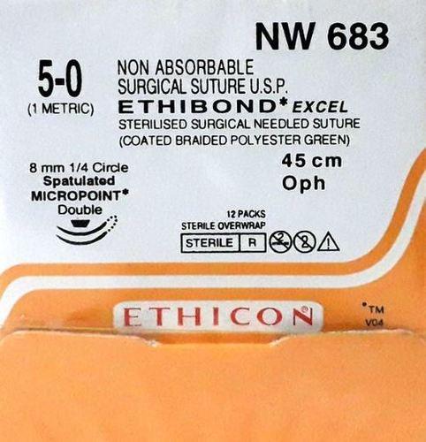 Ethicon Ethibond Excel (Polybutylate Coated Braided Polyester) (Nw683)