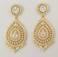 Women Gold Fancy Earring