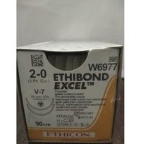 Ethicon Ethibond Excel (Polybutylate Coated Braided Polyester)(W6977)