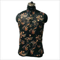 Mens Flower Printed Koti