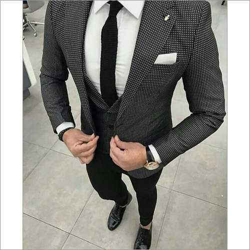 Mens Formal Three Piece Suit