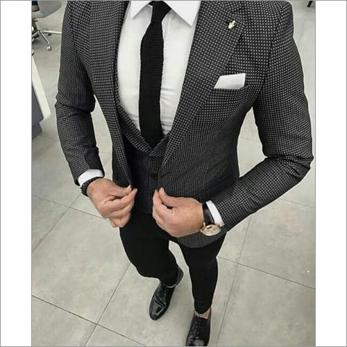 Mens Formal Three Piece Suit
