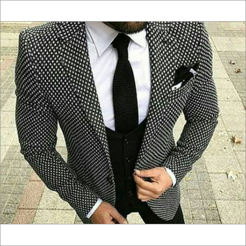 Mens Slim Fit Three Piece Suit