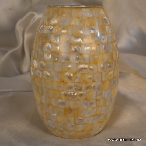 Glass Home Decor Seap Flower Vase