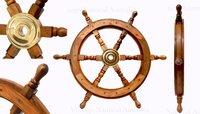 Ship Wheel (Medium) – 600 mm