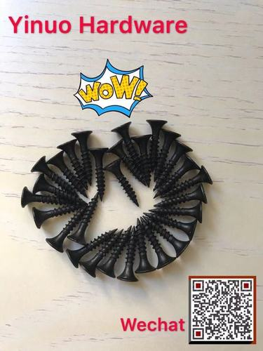 INOX MAC HONNA Brand DRYWALL SCREW  black phosphate C1022A material Fine Thread China Supplier