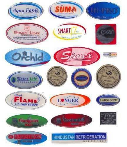 pu dome sticker