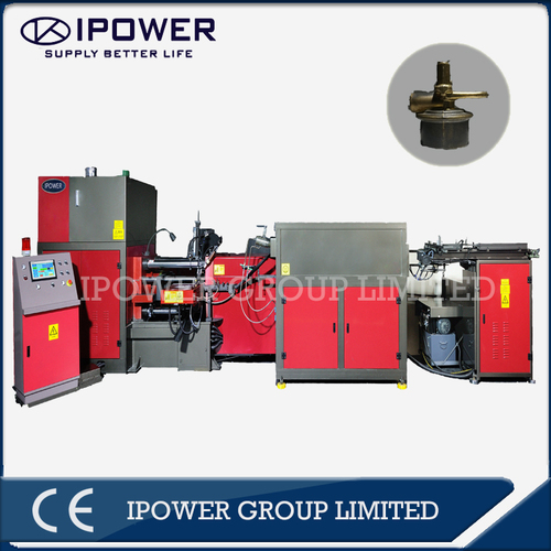 Horizontal Hot Forging Press Machine for Brass CO2 valve