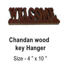 Chandan Wood Key Hanger