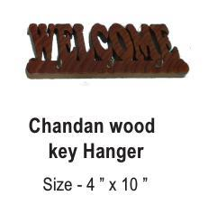 Chandan Wood Key Hanger