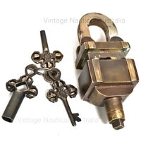 Padlock – Triple Key Combination
