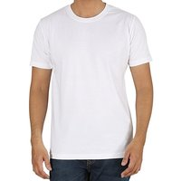 White 100% Cotton Super Combed Biowash T-shirt  ----------  Rs 145/ Piece
