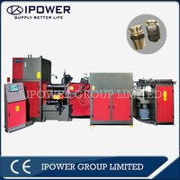Horizontal Hot Forging Press Machine for Two Way LPG Valve