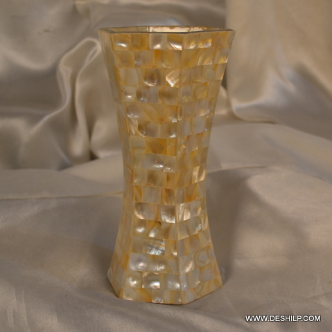 Glass Seap Flower Vase