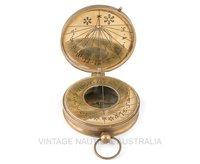 Sundial Compass – Australian 1930 Penny