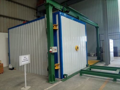 Industrial Vacuum Drying Oven Heating By Gas Burner For Transformer Drying