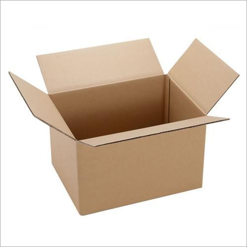 Brown Cardboard Corrugated Box