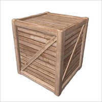 Rectangular Wooden Storage Box