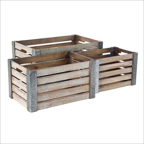 Industrial Wooden Pallets Box