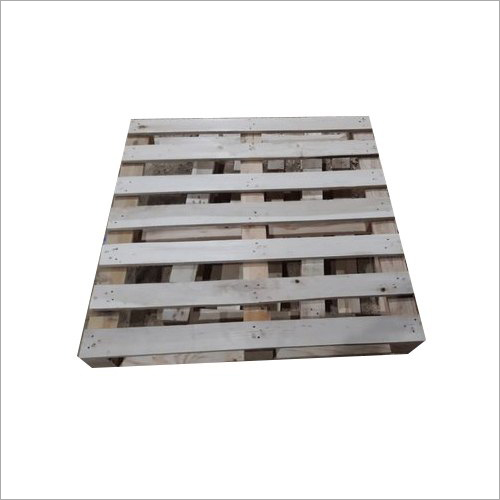 Wooden Four Way Single Deck Pallet