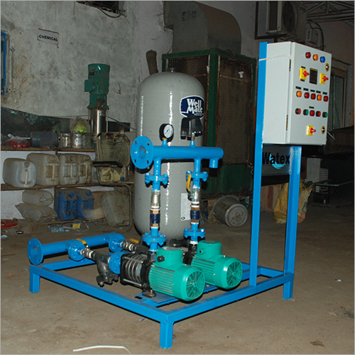 Automatic Pressure Boosting System