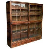WOODEN BOOK SHELVE