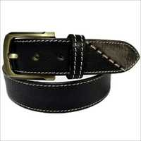 Mens Black PU Leather Belt