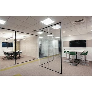 4mm Glass Partition