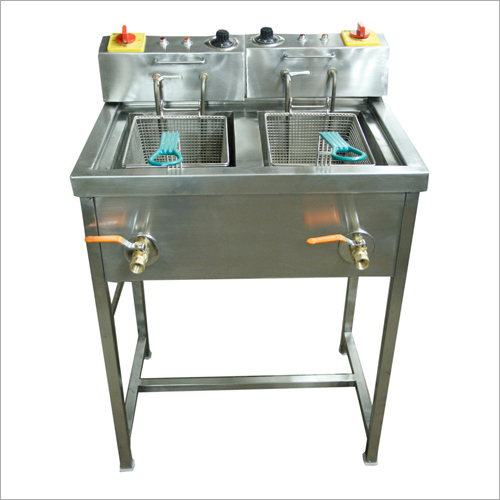 Double Fryer Stand
