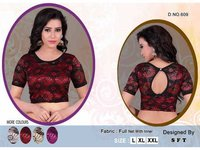 FULL NET BLOUSE WITH INNER