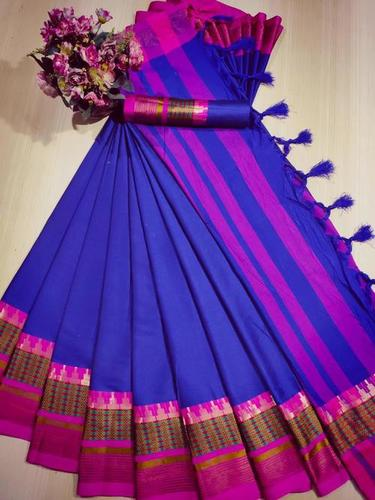 Cotton Silk Party Wear Saree