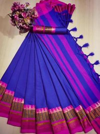 Cotton Silk Saree, Party Wear Saree Collection