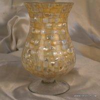 Seap Glass Hurricane Candle Holder