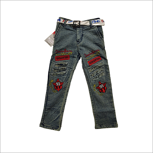 Boys Fancy Designer Jeans