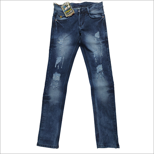 Mens Rough Denim Jeans