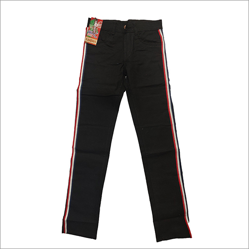 Mens Black Designer Trouser