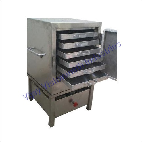 Stainless Steel Commercial live Dhokla Maker