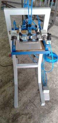 Manual balloon printing machine