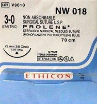 Ethicon Prolene(Polypropylene) Suture (NW018)