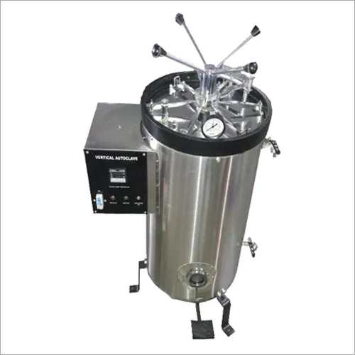 VERTICAL AUTOCLAVE DOUBLE WALL