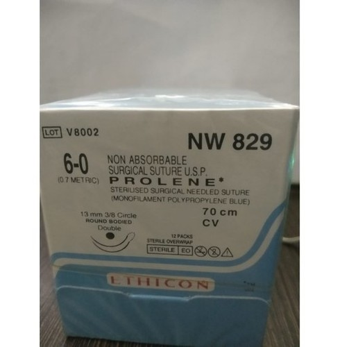 Ethicon Prolene(Polypropylene) Suture (NW829)